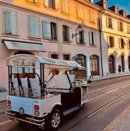E-TUKTUK IN GENEVA – PREPAYMENT REQUIRED
