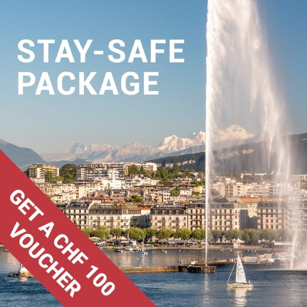 Stay-safe – Upgrade & petit déjeuner inclus